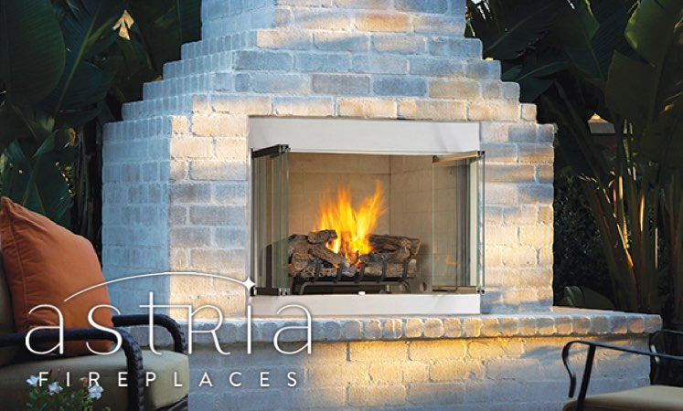 astria 800 Wood Burning Outdoor Fireplaces
